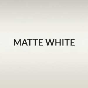 Matte White Blind Color